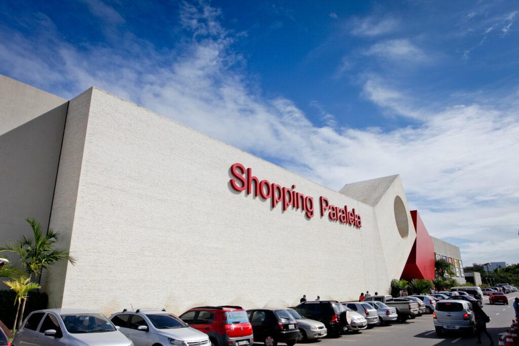 Fachada Shopping Paralela / Foto divulgação